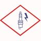 Свеча зажигания BERU ZE 14-12-400 A1 M14x1,25x12 специальная одноэлектродная