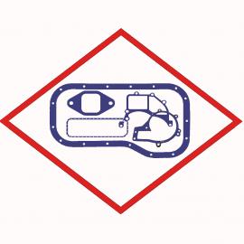 Регулировочная прокладка  51012220002 оригинал  147,5x153,8x0,05-X12CRN для двигателей  MAN