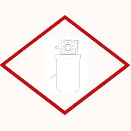 Фильтр масла OEM 1446691 для Caterpillar