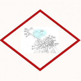 Oil Filter Element Caterpillar 1R0726
