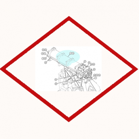 Фильтрующий элемент Caterpillar 1R0726