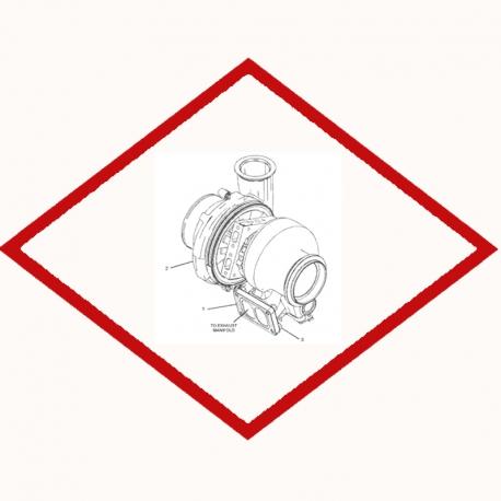 Турбина 20R3229 Caterpillar 3808712