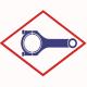 Connecting rod 12452423 original for MWM TBG 620; TCG 2020