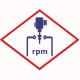 Датчик частоты вращения  12323518 для  MWM TCG 2016