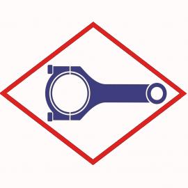 Connecting rod MWM 12319561 for TCG 2016 V12, V12, V16