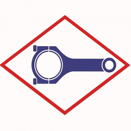 Connecting rod 12319561 original for MWM TCG 2016 V12, V12, V16