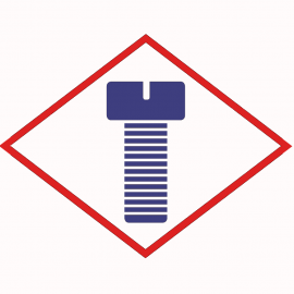 Hexalobular head bolt MAN 51904900022 M15x2 1200N/M for various engines
