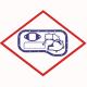 Прокладка картера 51059040133 оригинал для  двигателей  MAN.