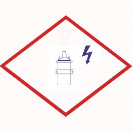 Катушка зажигания  12153965 / 12479550 альтернативная  Altronic 501061, синяя, для двигателей MWM.