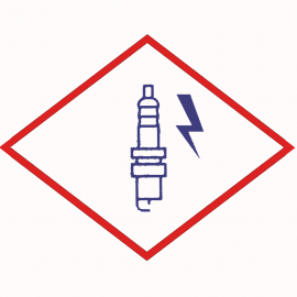 Spark plug BERU ZE 14-8-250 A1 M14x1,25x8 Special ignition electrode with single electrode