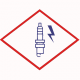 Свеча зажигания BERU ZE 14-8-250 A1 M14x1,25x8 специальная одноэлектродная