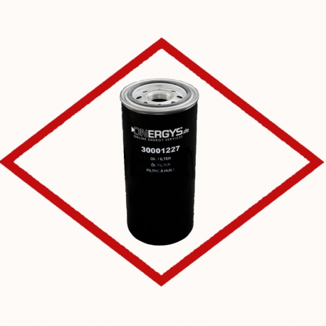 Oil filter ONE1227 for MWM - Caterpillar - Deutz engines replaces MWM 12128936 - CAT 12343124 - MANN W13 145/1