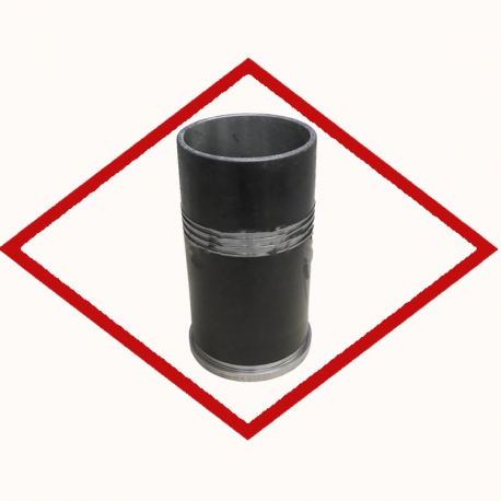 Cylinder liner 12452041 for MWM TCG 2020 with 3 grooves