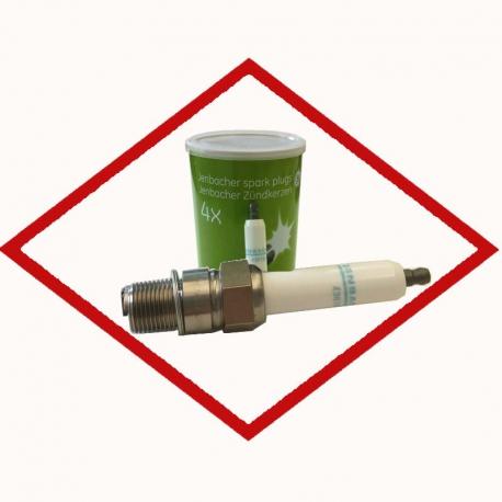 Spark plug tin (4 pcs) Jenbacher P603 - 1205634 original for Jenbacher 6 series, replaces Denso 518 - 436782