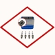 Spark plug tin (4 pcs) Jenbacher P603 - 1205634 original for Jenbacher 6 series, replaces Denso 518 - 436782