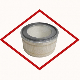 Air filter Fleetguard AF4609 for CAT engines OE 8N6309
