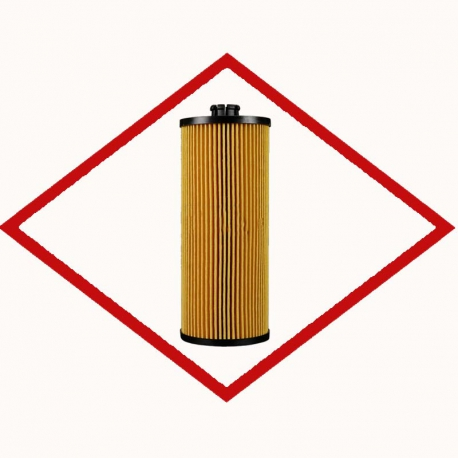 Oil filter ONE1217 for MAN 2848 - 2876 engines