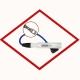 Ignition cable Teflon ONE-TAW0419 for MAN E0836LE, E28xxE/TE/LE, Denso GE3-5