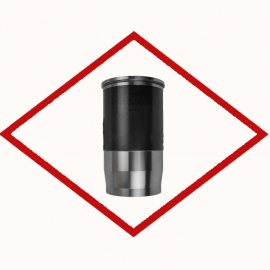 Cylinder liner ONE1074, MWM 12342162 for TCG 2016