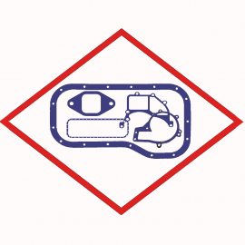 Gasket Elrig, MAN 51059040133 Oil pan, for MAN E2842