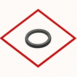 Oil Seal for Crank Shaft DV15 Doosan 65.01510-0153