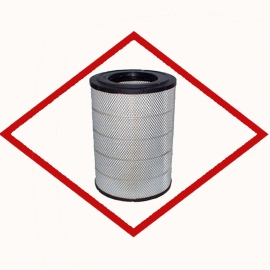 Air filter ONE1140 for Schnell - Scania DC9-DC12-DC16 Replaces MANN C 30 1500 - Schnell 1-015-159