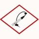 Провод свечи зажигания ONE-TDS0469 - 610мм для MAN E28 series, M18 / 2G agenitor 250kW / Denso GL3-5