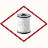Oil filter cartridge MANN LC 10 002/1 x