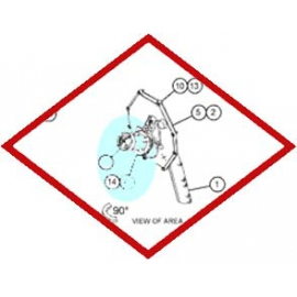 Уплотнение круглого сечения 6V4314 OEM для Caterpillar