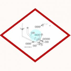 Кольцо уплотнительное 6V5134 OEM для Caterpillar