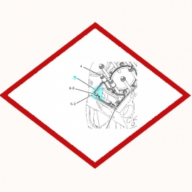 Прокладка ГБЦ 1106991 OEM для Caterpillar