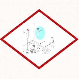 Guide valve 1916766 OEM  for Caterpillar