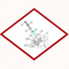 Guide valve  Caterpillar 2550897