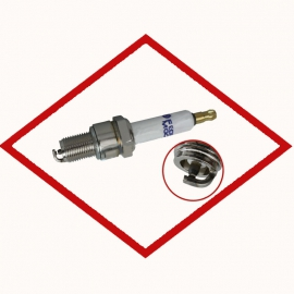 Spark plug BERU 14 R-5 BIU - Z 195 for various CHP gas engines