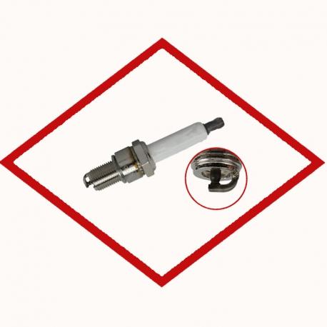 Spark plug BERU 14 R-5 BIU - Z 195 for various CHP gas engines