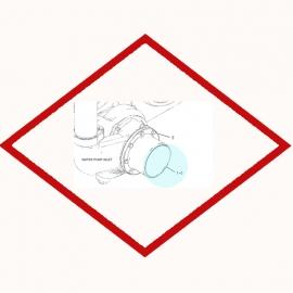 Прокладка OEM 1S5772 для Caterpillar