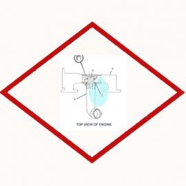 Кольцо уплотнительное  OEM 6V1454 для Caterpillar