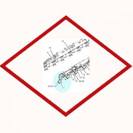 Коннектор OEM 2049598 для Caterpillar