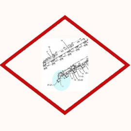 Seal Integral OEM 2049598 for Caterpillar