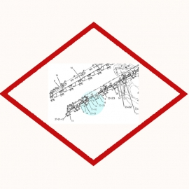 Seal Integral OEM 1986067 for Caterpillar